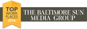 Top Work Places - 2016. The Baltimore Sun Media Group